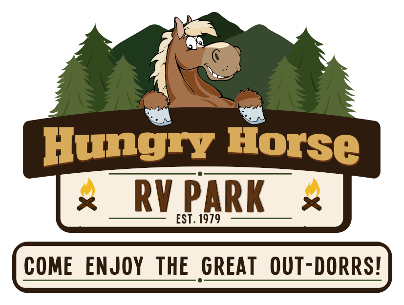 Hungry Horse Campground Logo