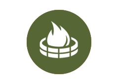 Campfire Rings Icon