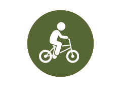 Kids' Bike Track Icon