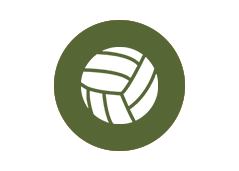 Volleyball Court Icon